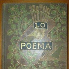 Libros antiguos: LIBRO LO POEMA DEL COR. TEODORO BARO. ILUSTRACIONES MARTINEZ CUBELL. 1895 MODERNISMO. Lote 32222097
