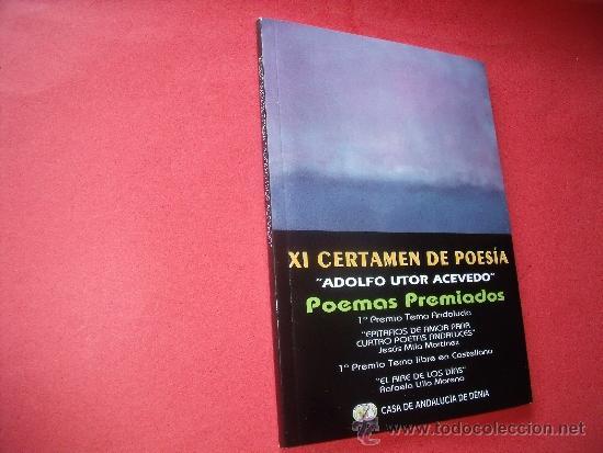 XI CERTAMEN DE POESIA (Libros antiguos (hasta 1936), raros y curiosos - Literatura - Poesía)