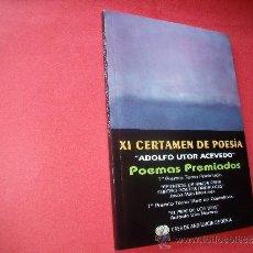 Libros antiguos: XI CERTAMEN DE POESIA . Lote 32457826