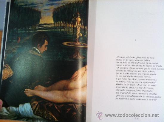 Libros antiguos: A la pintura. Poema del color y la linea (1945-1967). RAFAEL ALBERTI. 95 ilustra. 1968 - Foto 11 - 31989229