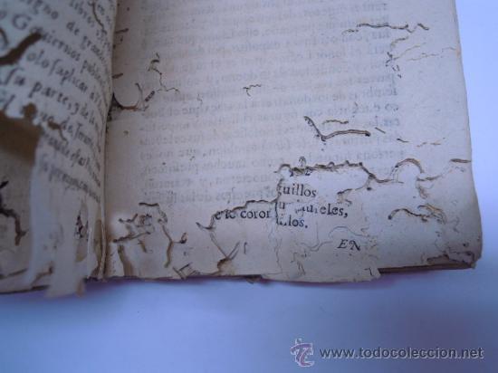 Libros antiguos: ANTIGUO LIBRO DE LOPE DE VEGA S. XVII (1674): RIMAS HUMANAS Y DIVINAS, EN PERGAMINO VER DESCRIPCION - Foto 6 - 32881085