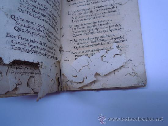 Libros antiguos: ANTIGUO LIBRO DE LOPE DE VEGA S. XVII (1674): RIMAS HUMANAS Y DIVINAS, EN PERGAMINO VER DESCRIPCION - Foto 8 - 32881085