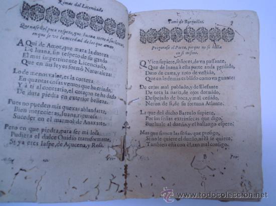 Libros antiguos: ANTIGUO LIBRO DE LOPE DE VEGA S. XVII (1674): RIMAS HUMANAS Y DIVINAS, EN PERGAMINO VER DESCRIPCION - Foto 9 - 32881085