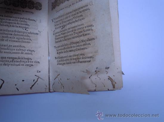 Libros antiguos: ANTIGUO LIBRO DE LOPE DE VEGA S. XVII (1674): RIMAS HUMANAS Y DIVINAS, EN PERGAMINO VER DESCRIPCION - Foto 13 - 32881085