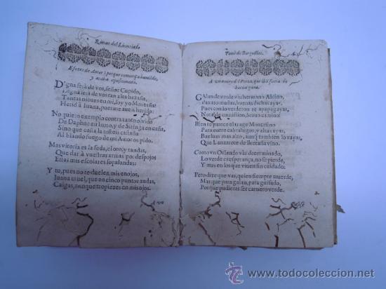 Libros antiguos: ANTIGUO LIBRO DE LOPE DE VEGA S. XVII (1674): RIMAS HUMANAS Y DIVINAS, EN PERGAMINO VER DESCRIPCION - Foto 14 - 32881085