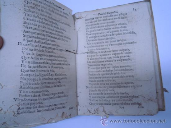 Libros antiguos: ANTIGUO LIBRO DE LOPE DE VEGA S. XVII (1674): RIMAS HUMANAS Y DIVINAS, EN PERGAMINO VER DESCRIPCION - Foto 15 - 32881085