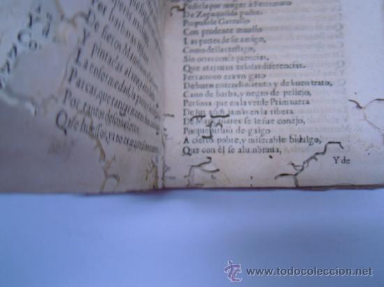 Libros antiguos: ANTIGUO LIBRO DE LOPE DE VEGA S. XVII (1674): RIMAS HUMANAS Y DIVINAS, EN PERGAMINO VER DESCRIPCION - Foto 16 - 32881085