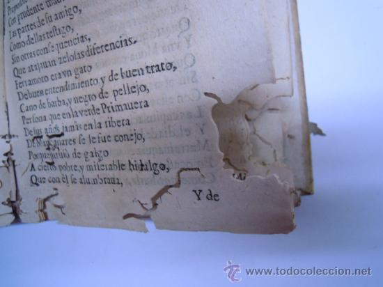 Libros antiguos: ANTIGUO LIBRO DE LOPE DE VEGA S. XVII (1674): RIMAS HUMANAS Y DIVINAS, EN PERGAMINO VER DESCRIPCION - Foto 17 - 32881085