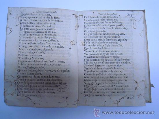 Libros antiguos: ANTIGUO LIBRO DE LOPE DE VEGA S. XVII (1674): RIMAS HUMANAS Y DIVINAS, EN PERGAMINO VER DESCRIPCION - Foto 18 - 32881085