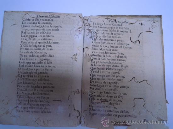 Libros antiguos: ANTIGUO LIBRO DE LOPE DE VEGA S. XVII (1674): RIMAS HUMANAS Y DIVINAS, EN PERGAMINO VER DESCRIPCION - Foto 19 - 32881085