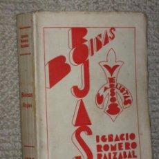 Libros antiguos: BOINAS ROJAS. VERSOS CARLISTAS, POR IGNACIO ROMERO RAIZÁBAL, SANTANDER, 1933 DEDICADO. CARLISMO. Lote 33109040