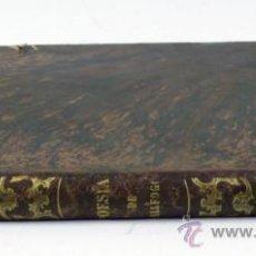 Libros antiguos: POESÍAS JOGOSAS Y SERIAS DEL DOCTOR VICENS GARCIA, RECTOR DE VALLFOGONA, BARCELONA 1856.. Lote 33313135