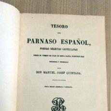 Libros antiguos: TESORO DEL PARNASO ESPAÑOL. Lote 33543018