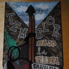 Libros antiguos: TEMBLOR BAJO LA PIEDRA. CARILDA OLIVER. HOMENAJE EN SU 80 ANIVERSARIO. EDICIÓN NUMERADA Y MANOFACTUR. Lote 34183137