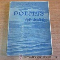 Libros antiguos: POEMAS DE MAR. MESTRES, APELES. 1900. SEGONA EDICIÓ.. Lote 34714779