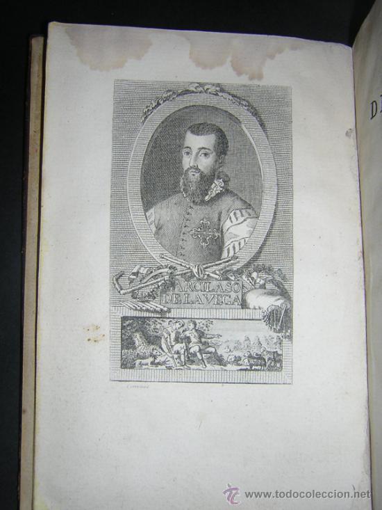 Libros antiguos: 1804 - GARCILASO DE LA VEGA - OBRAS, ILUSTRADAS CON NOTAS - Foto 3 - 34519389