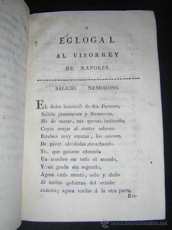 Libros antiguos: 1804 - GARCILASO DE LA VEGA - OBRAS, ILUSTRADAS CON NOTAS - Foto 6 - 34519389