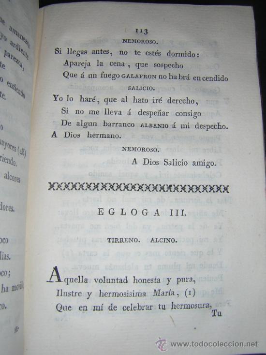 Libros antiguos: 1804 - GARCILASO DE LA VEGA - OBRAS, ILUSTRADAS CON NOTAS - Foto 7 - 34519389