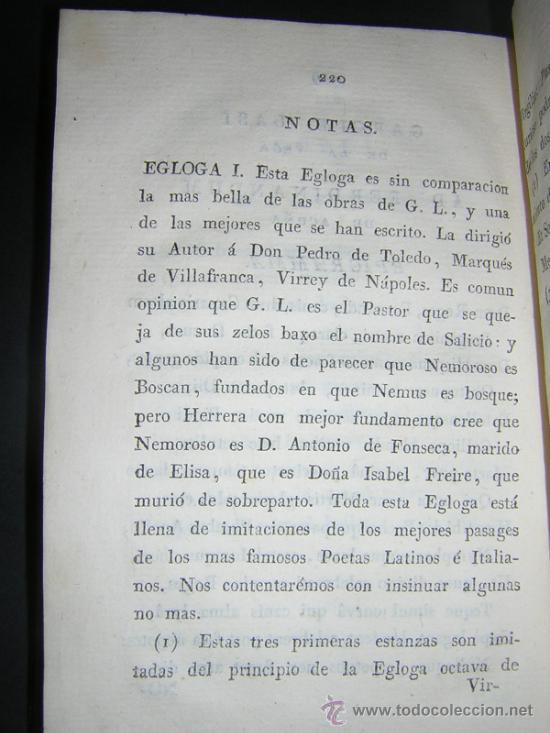 Libros antiguos: 1804 - GARCILASO DE LA VEGA - OBRAS, ILUSTRADAS CON NOTAS - Foto 9 - 34519389