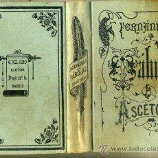 Libros antiguos: CAYETANO FERNÁNDEZ ; FÁBULAS ASCÉTICAS (GREGORIO DEL AMO, 1901). Lote 35345713