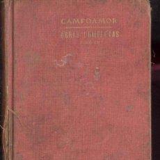 Libros antiguos: OBRAS POETICAS COMPLETAS DE RAMON DE CAMPOAMOR -POEMAS, POESIAS, FABULAS - TOMOIII. Lote 35764792