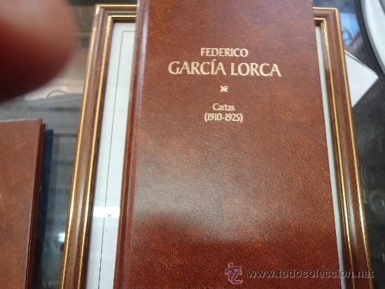 LIBRO DE FEDERICO GARCIA LORCA CARTAS 1910 1925 (Libros antiguos (hasta 1936), raros y curiosos - Literatura - Poesía)