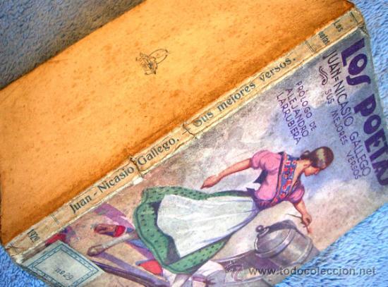 Libros antiguos: LOS POETAS. JUAN NICASIO GALLEGO. SUS MEJORES VERSOS. PROL. ALEJANDRO LARRUBIERA, 1929. - Foto 2 - 35940310