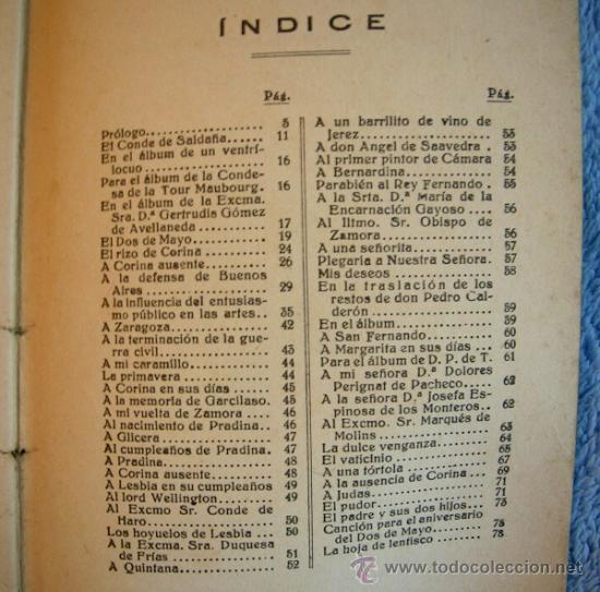 Libros antiguos: LOS POETAS. JUAN NICASIO GALLEGO. SUS MEJORES VERSOS. PROL. ALEJANDRO LARRUBIERA, 1929. - Foto 6 - 35940310
