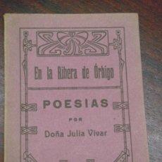Libros antiguos: EN LA RIBERA DE ÓRBIGO. (LEÓN). POESÍAS. 1922. Lote 36336860