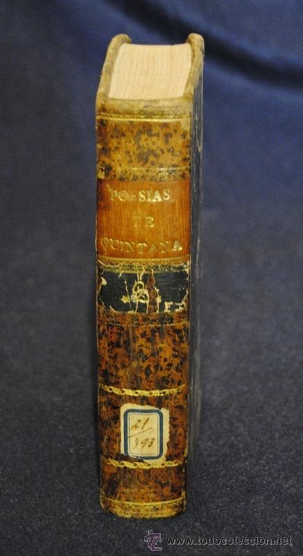 POESÍAS SELECTAS CASTELLANAS , MANUEL JOSE QUINTANA TOMO II (Libros antiguos (hasta 1936), raros y curiosos - Literatura - Poesía)