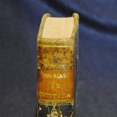 Libros antiguos: POESÍAS SELECTAS CASTELLANAS , MANUEL JOSE QUINTANA TOMO II. Lote 37152245