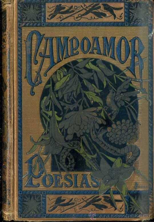 BIBLIOTECA ARTE Y LETRAS : CAMPOAMOR (1883) - MUY ILUSTRADO (Libros antiguos (hasta 1936), raros y curiosos - Literatura - Poesía)