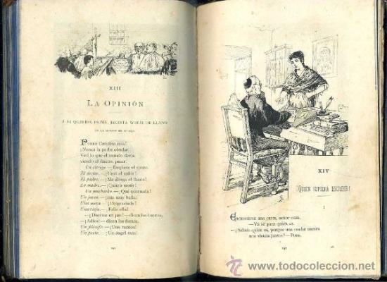 Libros antiguos: BIBLIOTECA ARTE Y LETRAS : CAMPOAMOR (1883) - MUY ILUSTRADO - Foto 2 - 37832256