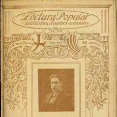 Libros antiguos: JOAN DRAPER : POESIES - ILUSTRACIÓ CATALANA. Lote 38112822