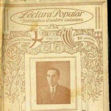 Libros antiguos: JOAN LLONGUERAS : POESIES - ILUSTRACIÓ CATALANA. Lote 38114118