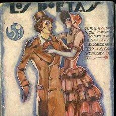Libros antiguos: LOS POETAS : ANTOLOGÍA DE POETAS SEVILLANOS (1929) . Lote 38126096