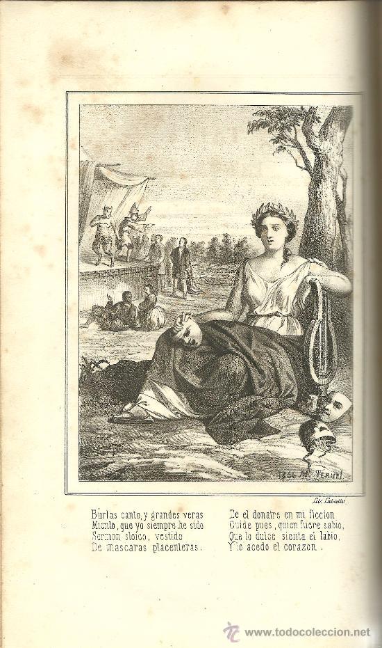 Libros antiguos: El Parnaso español y musas castellanas / de Francisco de Quevedo Villegas - 1866 - Foto 16 - 38362421