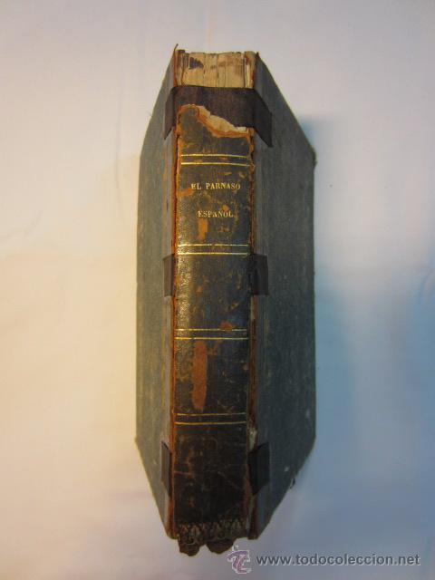 Libros antiguos: El Parnaso español y musas castellanas / de Francisco de Quevedo Villegas - 1866 - Foto 5 - 38362421