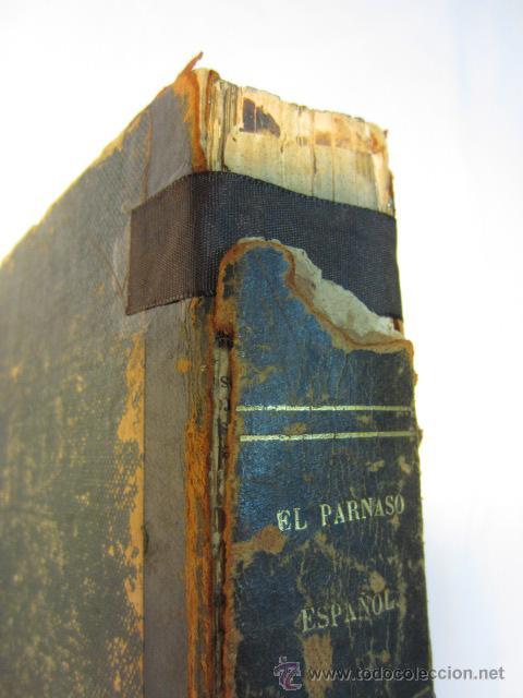 Libros antiguos: El Parnaso español y musas castellanas / de Francisco de Quevedo Villegas - 1866 - Foto 7 - 38362421