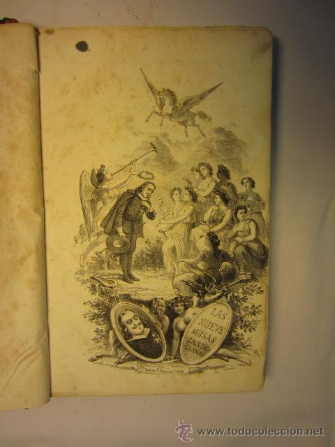 Libros antiguos: El Parnaso español y musas castellanas / de Francisco de Quevedo Villegas - 1866 - Foto 10 - 38362421