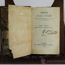 Libros antiguos: LP-006 - POESIAS SELECTAS CASTELLANAS. MANUEL JOSEF QUINTANA.TOMO II. EDIT. FUENTENEBRO 1807.. Lote 38446084