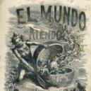 Libros antiguos: ROBERTO ROBERT : EL MUNDO RIENDO (LÓPEZ, 1866). Lote 38707003