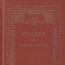 Libros antiguos - FLORES DE POETAS ILUSTRES de los siglos XVI y XVII. - 38927973