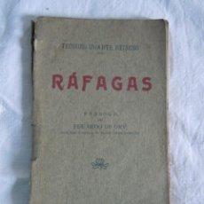 Livros antigos: RAFAGAS DE TEODORO IRIARTE REINOSO (HUMORADAS, CANTARES, RIMAS) DE 1907. Lote 40308294
