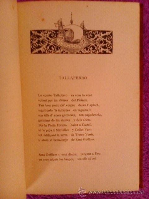 Libros antiguos: CANIGO LLEGENDA PIRENAYCA,MOSSEN JACINTO VERDAGUER 1886 - Foto 4 - 194617032