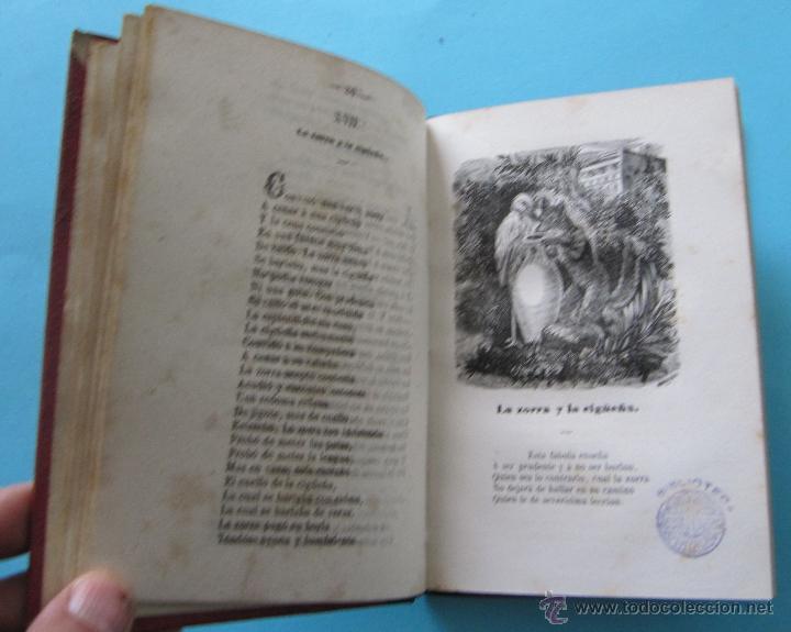 Libros antiguos: FÁBULAS ESCOGIDAS DE ESOPO. TRADUCCION POR FRANCISCO PELAYO BRIZ. MADRID BARCELONA, 1863. - Foto 3 - 40927236
