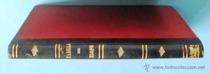 Libros antiguos: FÁBULAS ESCOGIDAS DE ESOPO. TRADUCCION POR FRANCISCO PELAYO BRIZ. MADRID BARCELONA, 1863. - Foto 7 - 40927236