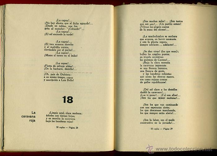 Libros antiguos: LIBRO, 50 COPLAS DE LUIS TAPIA , 1932 , HOMENAJE AL POETA DEL PUEBLO , ORIGINAL - Foto 3 - 41007204