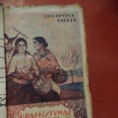 Libros antiguos: OBRAS PÓSTUMAS DE JOSÉ Mª GABRIEL Y CALÁN. CUENTOS Y POESÍAS. BIBLIOTECA PATRIA. MADRID.. Lote 41089109