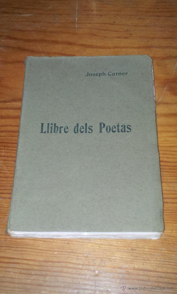 Llibre Dels Poetas Joseph Carner Llibre Del Comprar